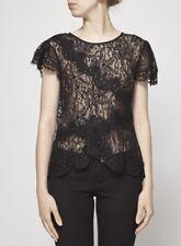 EUC Isabel Marant • Lace Beaded Black Blouse 40