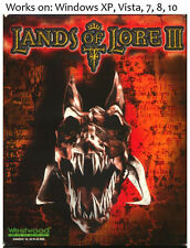 Lands of Lore III 3 PC Game