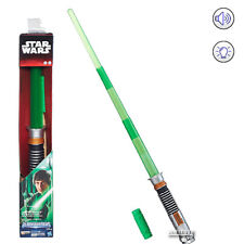 Star Wars LUKE SKYWALKER ELECTRONIC Lightsaber BLADEBUILDERS Sound Light Hasbro