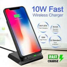 Qi Wireless Charger Phone Charging Pad For iPhone 12 11 Pro XS Samsung S20 Ultra