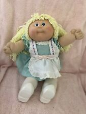 Gorgeous Coleco Cabbage Patch Traveller - Holland - Doll, Blonde Hair Blue Eyes