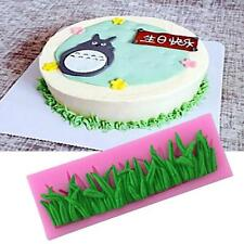 Fondant Cake Mold Liquid Silicone Mould Grass Baking Decoration DIY 3D Molds Q