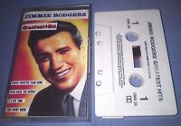 JIMMIE RODGERS GREATEST HITS cassette tape album T5790