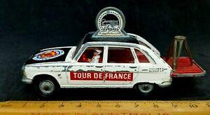 Corgi Toys GS13a; Renault R16 Tour De France Camera Car, Missing Camera + Man