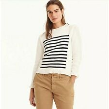 J Crew 1988 Roll Neck Stripe Sweater Size Small