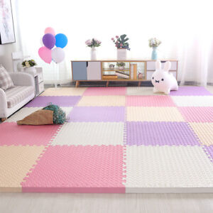 EVA Foam Mat Gym Floor Mats Interlocking Heavy Duty Puzzle Baby Kids Play 4PCS