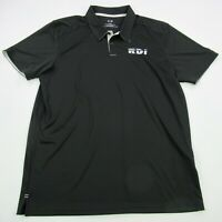 Oakley Mens Polo Shirt Black Short Sleeve XL Performance Soft Golf Casual RDI