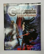 Castlevania: The Order of Ecclesia Official Strategy Guide 2008 BradyGames