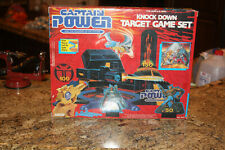 1987 Captain Power Knock Down Target Game Set