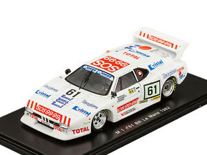 M 1 No.61 8th LM 1982 SPARK MODEL 1/43 #S1585