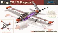 AMK 88004 1/48 scale Fouga C M 170 magister plane model kit 2019 new