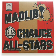 MADLIB 420 CHALICE ALL-STARS RARE RED VINYL 2xLP VINYL ME PLEASE EDITION MINT