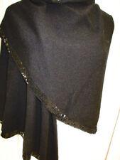 Écharpes et châles étoles noir pour femme