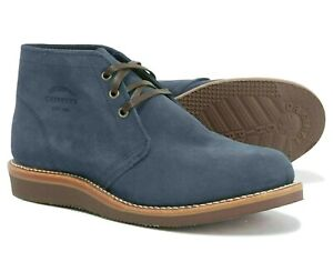 Chippewa Men's Milford Suede Chukka Boots 1901G07 Navy Factory Seconds Size 8 E