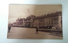 Plymouth. The Hoe. Old Postcard