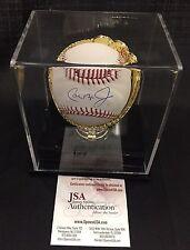 Cal Ripken Jr Autographed Signed Official MLB Baseball JSA Authentication W/Case