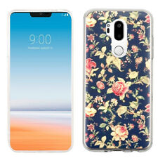 Slim-Fit TPU Protector Phone Case for LG G7 ThinQ - Floral Garden