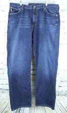 NAUTICA JEANS  42 x 32 NJC Contract LOOSE Straight Leg Streetwear Blue Jeans