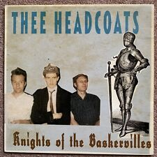 Thee Headcoats Knights Of The Baskervilles LP Excellent Plus Wild Billy Childish