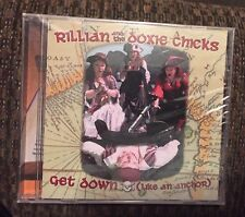 NEW RiLLian and the doxie chicks Get Down  (like an anchor) CD FREE SHIPPING l👀