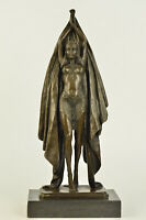 Graceful Gypsy Dancer Sexy Girl Chiparus Art Bronze Sculpture Fashion Deco Gift