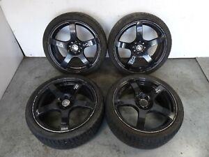 "Ford Fiesta MK5 2002 - 2008 17"" Alloy Wheel & Tyre Full Set 205 40 R17"