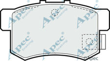 REAR BRAKE PADS FOR MG MG ZR GENUINE APEC PAD680