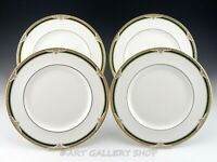 "Royal Doulton England H5197 FORSYTH 10-5/8"" DINNER PLATES Set of 4"