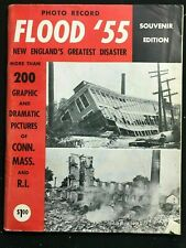 Commemorative Picture Book - NEW ENGLAND - FLOOD OF 1955