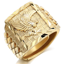 Men's Fashion Jewelry Gold Plated Adjustable Luxury Eagle Ring  TK8-9