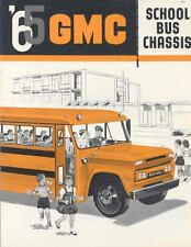 1965 GMC School Bus Sales Brochure Canada  wg9610-4BSRCI