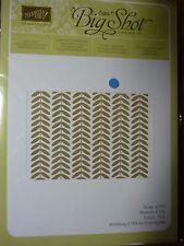 Stampin Up VINE STREET Textured impressions Embossing Folders Big Shot NEW