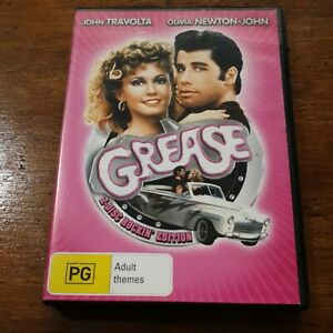 Grease 2 Disc Rockin Edition DVD R4 Like New! FREE POST