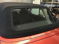 BMW Z3 Cabrio Heckscheibe Flexglas