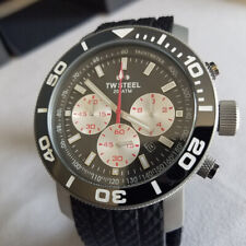 TW Steel CEO Grandeur Chronograph Diver TW705 Custom Blasted Finish