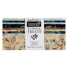 "Timeless Treasures Tonga Treats - Boathouse - (20) 10""  Batik Fabric Shortcake"