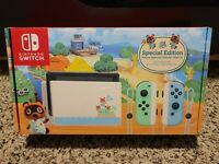 Nintendo Switch Animal Crossing: New Horizon Special Edition Console IN HAND