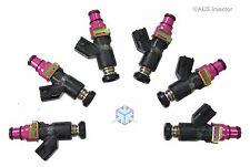 Set of 6 AUS Injectors 1000 cc HIGH FLOW fit NISSAN Skyline RB20DET 89-94 [C6-S]