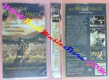 VHS film THE MIRACLE MAKER La storia di gesu' SIGILLATA 1999 CVC (F145) no dvd