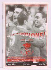 Walking Down The Warwick Road Issue 20a Manchester United Fanzine 1993 WDWR