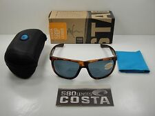 COSTA DEL MAR KIWA POLARIZED KWA66 OGP SUNGLASSES TORTOISE/GRAY 580P LENS, NEW!