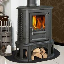 CAST IRON WOOD HEATER - Herculina Wood Fire Heater - GLOBE FIRE FIRE PLACE