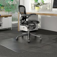 "PVC Matte Desk Office Chair Floor Mat Protector for Hard Wood Floors 48"" x 36"""