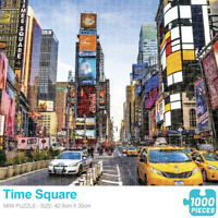Jigsaw Puzzle 1000 Piece Time Square Kids Adult Puzzle Educational Toy Game Gift