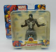 Marvel Heroes Spider-Man Bust Paperweight Black Suit Symbiote Costume New in Box