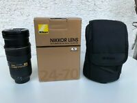 Nikon SWM AF-S Nikkor 24-70mm F/2.8G ED Objektiv !!