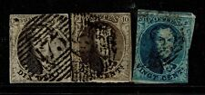 Belgium Sc# 6 x 2 and 7, Used, left 6 is torn at top & repaired, see note S5062