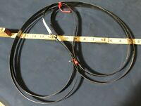 """Two (2) 60"""" (5') x 1/2"""" x 12TPI Band Saw Blades for Wood"""