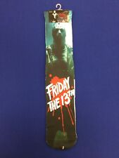 Jason Voorhees Subliminal Crew Sock. Brand New. Adult Shoe Size 6-12.