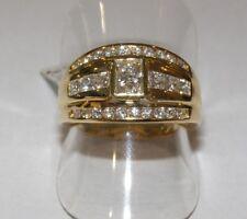 ANELLO ORO 18KT DIAMANTI DIAMONDS GOLD RING DIAMANTS D'OR ANNEAU ANILLO